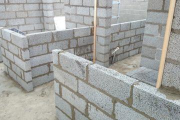 Müüritööd, vundamendid
